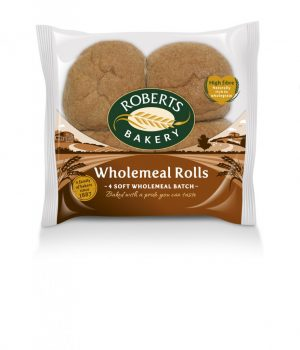 4 Wholemeal Rolls