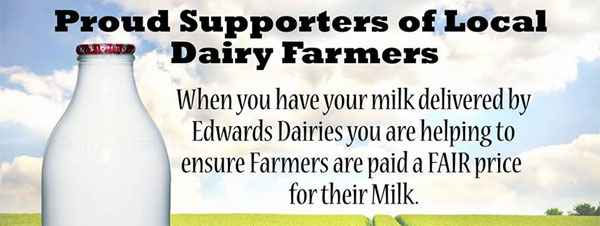 We ensure our dairy farmers are paid a fair price