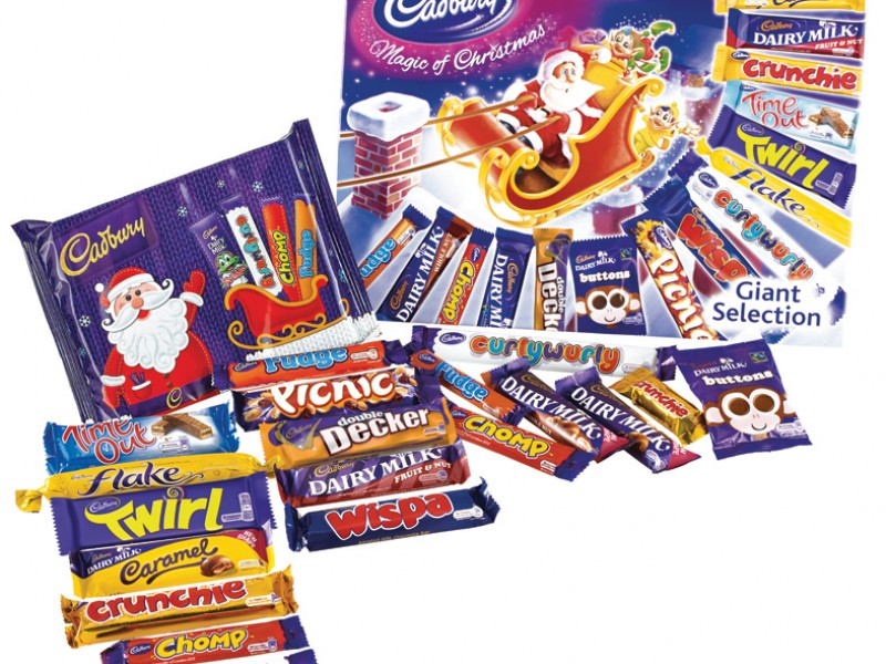 Cadbury Giant Selection Box Edwards Dairy Chirk