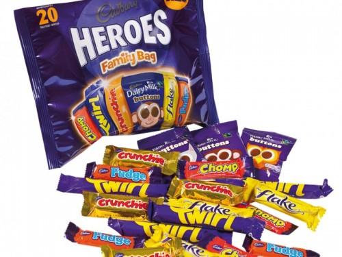 Cadbury Heroes Treatsize Family Bag Edwards Dairy Chirk