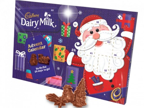 Cadbury Super Advent Calendar 200g Edwards Dairy Chirk