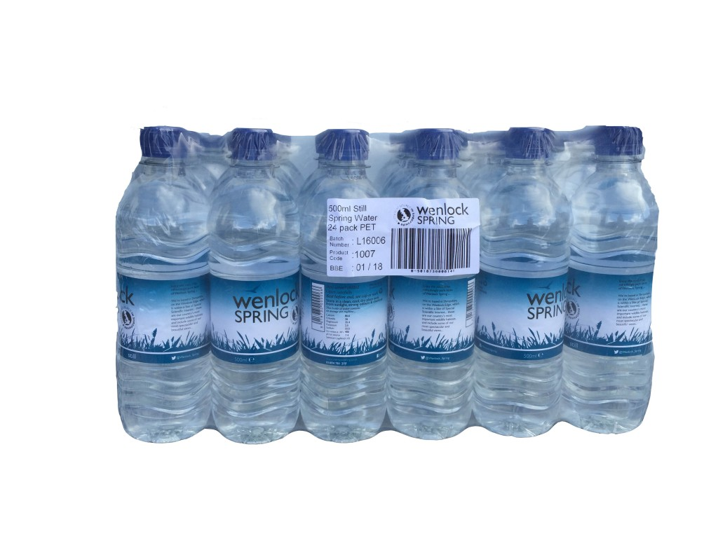 24 X 500ml Wenlock Spring Still Water Edwards Dairy Chirk