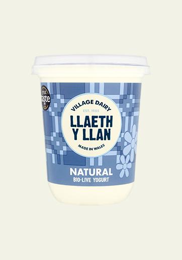 450g Natural Llaeth Y Llan Yoghurt Edwards Dairy Chirk